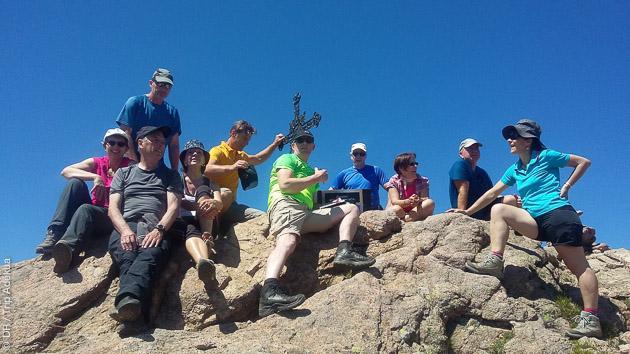 un séjour trek en Corse en toute convivialité, sur le plateau du Cuscionu