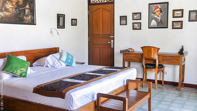 Randonnée itinérante à Bali, en Indonésie, avec hébergement en hôtel et lodge