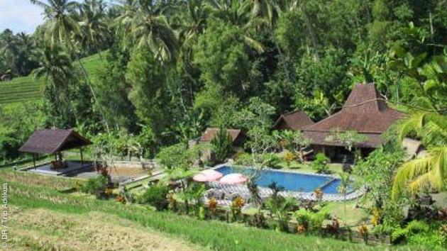 Une sélection d'hébergement tout confort pendant votre séjour randonnée trekking à Bali