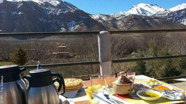 Un séjour randonnée au Maroc avec hébergement en hotel, riad et bivouac dans le Haut Atlas
